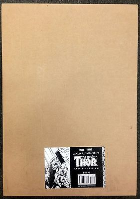 WALTER SIMONSON MIGHTY THOR ARTIST EDITION HC 1st print IDW Gallery Edition