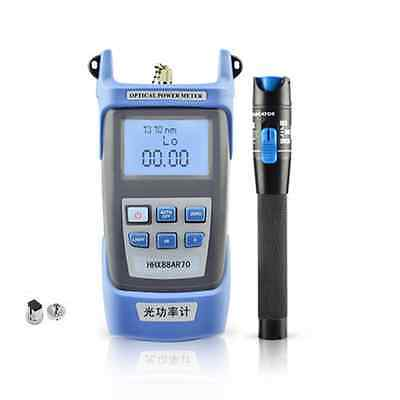 New Fiber Optical Power Meter and 10-12km 10mW Visual Fault Locator Cable Tester