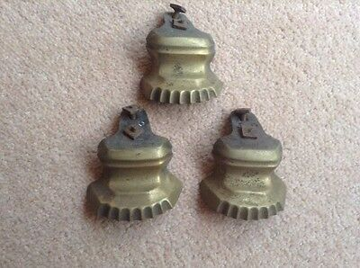 Antique Brass Feet x 3
