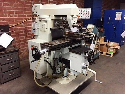 FIRST (SHARP) LC-20VHS Horizontal Mill Milling Machine, New 2001.