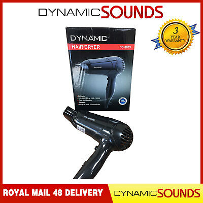 Dynamic DS-3003 Hair Dryer 2 Speed Settings, Cool Shot - PERFECT GIFT