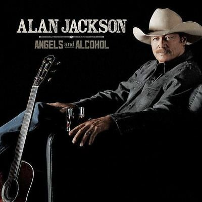Angels and Alcohol by Alan Jackson - CD Album Damaged Case