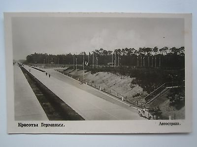 Wwii,beauty Of Germany/highway Postcard
