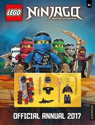 Official LEGO® Ninjago Annual 2017 Hardcover- Free Figure Brand New