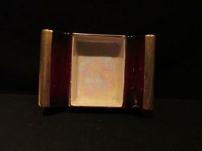 Carlton Ware Vintage Rouge Royale made in England Mother of Pearl Inside Ashtray