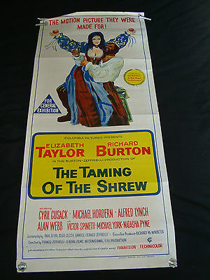 Small Cinema Film Posters Taming Of The Shrew Burton Taylor  Zeffirreli