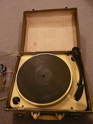 1950's Regentone Record Player Turntable only