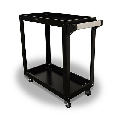 391 Us Pro Tools Black Tool Cart Trolley Mobile Trolley Steel Workstaion Box
