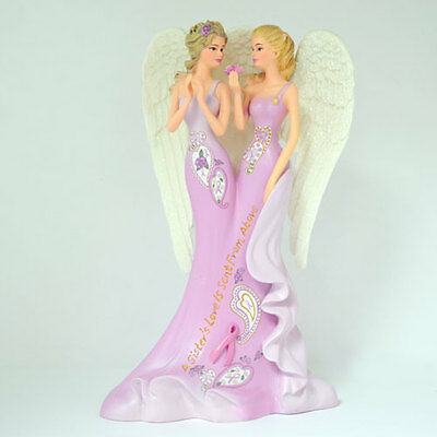 A Sisters Love is Sent From Heaven  Thomas Kinkade Angelic Figurine