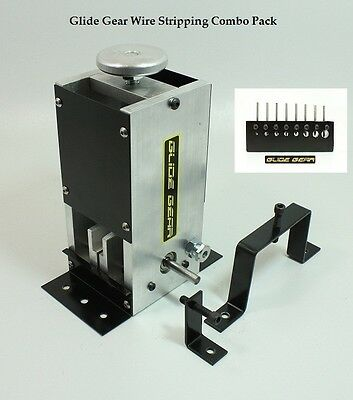 USA NEW Drill Operated Copper Wire Stripper Cable Stripping Machine