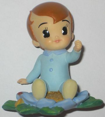 Adorable EXPRESSIONS of LOVE New BABY BOY Figurine 2002 DEMDACO