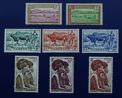 CAMEROON - 1916-1946 Collection of MH Stamps