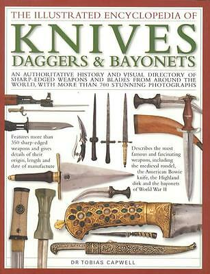 Illustrated Encyclopedia Antique Knives Daggers Bayonets w Color Photos for ID