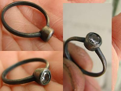 VERY NICE VINTAGE SILVER  RING with  STONE #5072
