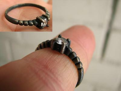 VERY NICE VINTAGE SILVER  RING with  STONE #5075