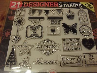 Clear stamp set for assorted occasions