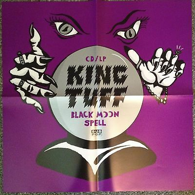 KING TUFF - Black Moon Spell - Large 21x21 PROMO POSTER - SUBPOP..