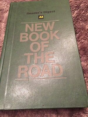 AA New Book of the Road Readers Digest 1982/1983 Hardback With Maps