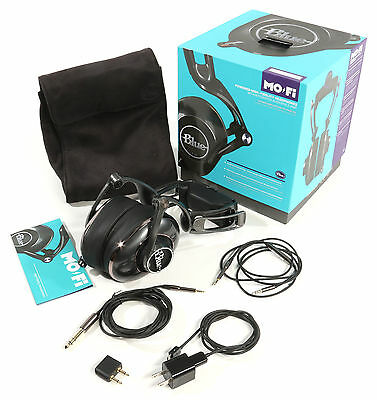 Blue Mo-Fi High-Fidelity Headphones with Audiophile Amp EXCELLENT!