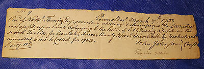 REVOLUTIONARY WAR DOCUMENT - 1783 Tax Collection - Pownalborough Maine