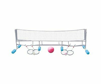 Poolmaster Swimming Pool Super Combo Water Volleyball + Badminton Game