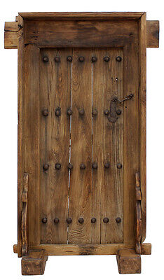 Stunning Carved Antique Door Panel,50'' x 84''H.