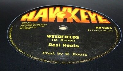 """DESI ROOTS WEEDFIELDSb/w MIND BLOWING DECISIONS ROOTS CLASSIC 12"""" ROOTS"""
