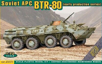 ACE #72171 Soviet APC BTR-80 Early Production in 1:72