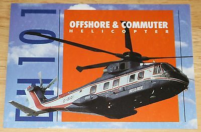 EH101 Offshore & Commuter Helicopter Sticker