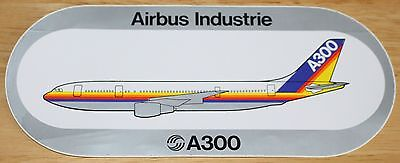 Original Official Airbus A300 Airliner Sticker