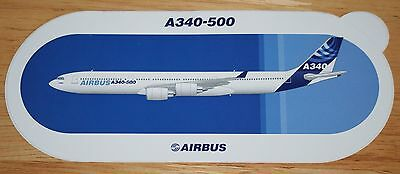 Original Official Airbus A340-500 Airliner Sticker