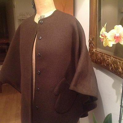 Stella McCartney Girls-Kids Wool Reversible Cape/Coat.Excellent condition