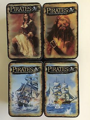 Pirates of the Spanish Main - 4 Collector Tins Wizkids
