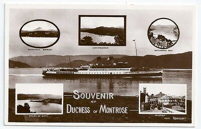 Caledonian Steam Packet Co DUCHESS OF MONTROSE Ferry Unused RP Postcard