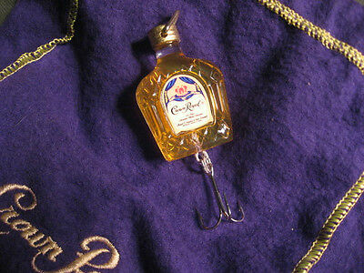 Crown Royal Whiskey Seagram's Promotional Fishing Lure