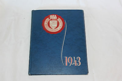 1943 New Mexico College Of A. And M.a. Yearbook Swastika Las Cruces, New Mexico