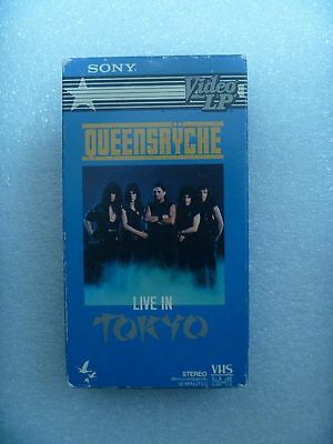 VHS Tape - Live in Tokyo By Queensryche ~*~Sony