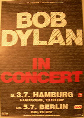 Bob Dylan Concert Tour Poster 1990 Oh Mercy