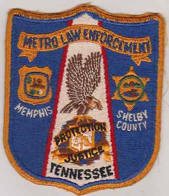 Metro Law Enforcement, Memphis & Shelby Co TN patch