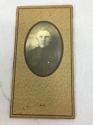 WWI US Army Soldiers Matted Photo
