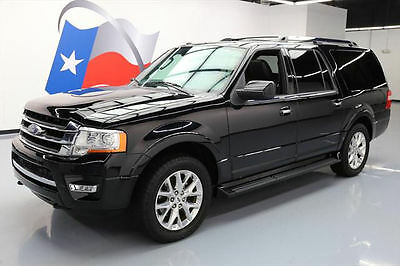 2016 Ford Expedition  2016 FORD EXPEDITION LTD EL 4X4 ECOBOOST SUNROOF 35K MI #F03505 Texas Direct