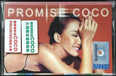 COCO LEE 李玟 Promise Coco 2001 MALAYSIA CASSETTES VERY RARE + CALENDAR CARD NEW