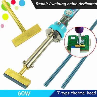 Soldering Iron T-iron T-tip head LCD Pixel Ribbon Cable Repair Tool 60W