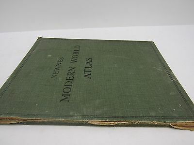 Vintage Rare Newnes Modern World Atlas WAR S14