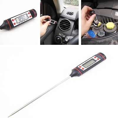 Car Check Repair Maintenance Equipment Portable Needle Type Digital Thermometer