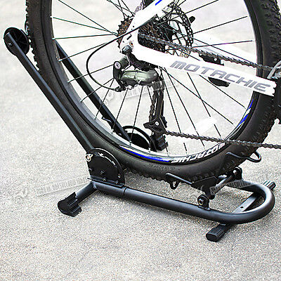 Bike Floor Mounted Storage Rack Stand For Cycle/bicycle Garage Outdoor