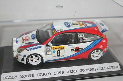 1:43 Ford Focus Rs Wrc Rally Monte Carlo 1999 Handbuilt