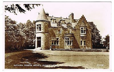 Real Photo Postcard - Ruthven Towers Hotel - Auchterarder Perthshire  Scotland