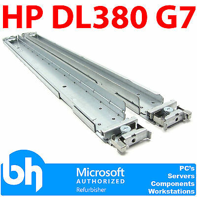 487244-001 HP DL380 G7 Rack Rails / 380 G6 Kit Rackmount Sliding Rail Pair