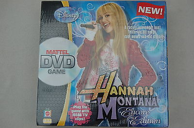 Hannah Montana Encore Edition Mattel DVD game - New and Sealed